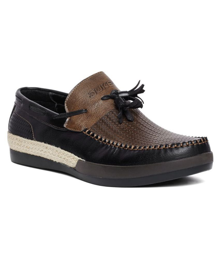 ac7074f7375 Duke Black Loafers - Buy Duke Black Loafers Online at Best Prices in India  on Snapdeal
