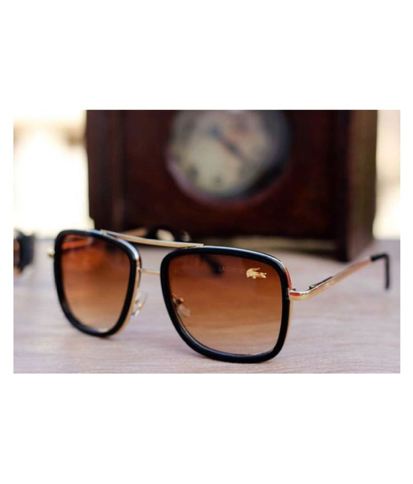 d3942f869e531 LACOSTE SUNGLSS Brown Square Sunglasses ( L652 ) - Buy LACOSTE SUNGLSS  Brown Square Sunglasses ( L652 ) Online at Low Price - Snapdeal
