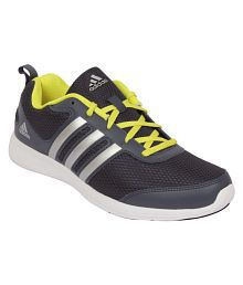 detailed look 38a98 65ee2 Quick View. Adidas YKING M Black Running Shoes