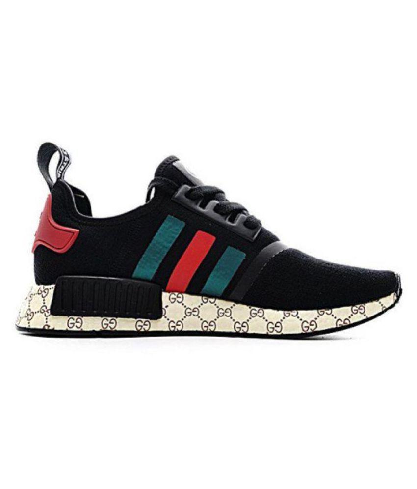 c3e43977c Adidas NMD GUCCI Black Running Shoes - Buy Adidas NMD GUCCI Black ...