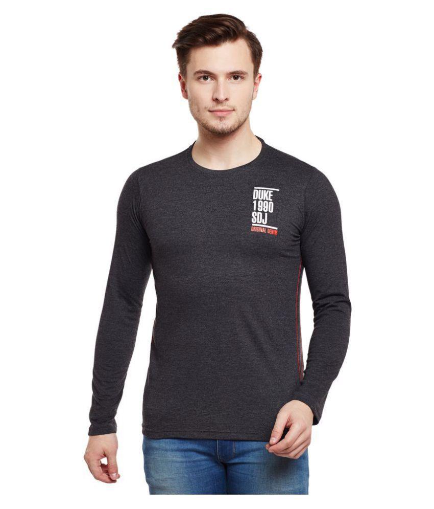 Duke Grey Full Sleeve T-Shirt