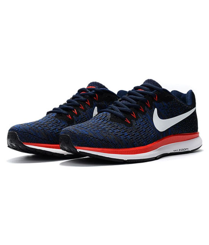 fdd1dc74c34 Nike Air Zoom Pegasus 33 Blue Running Shoes - Buy Nike Air Zoom ...