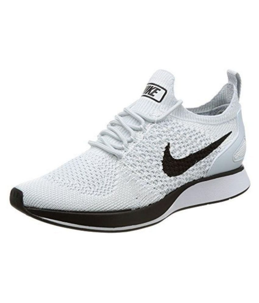 114cc2c14f Nike Lunar Flyknit 3 White Running Shoes - Buy Nike Lunar Flyknit 3 White  Running Shoes Online at Best Prices in India on Snapdeal