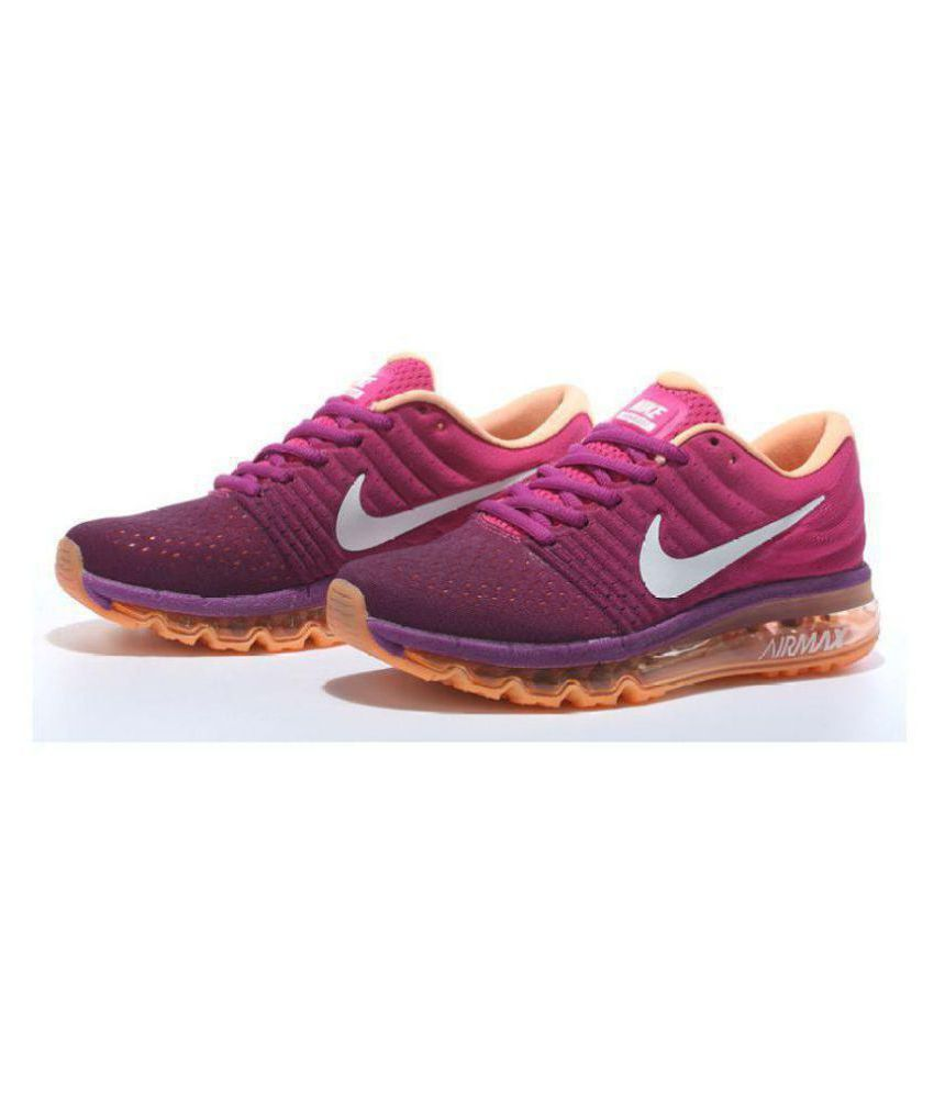 2c10fd449bbbe Nike Air Max 2017 Purple Womens Running Shoes Price in India- Buy Nike Air  Max 2017 Purple Womens Running Shoes Online at Snapdeal