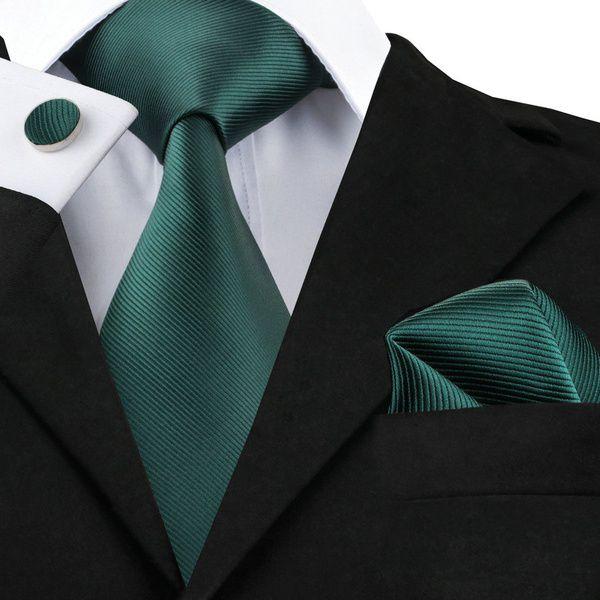 Kamalife Green Printed Silk Necktie