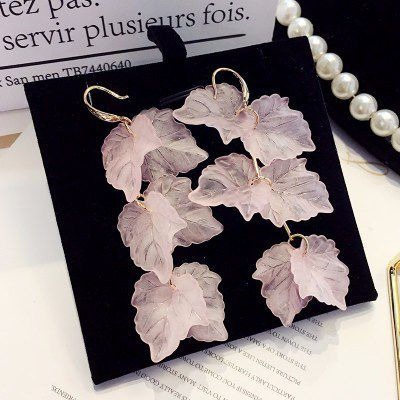 Levaso Fashion Jewelry Womens Earrings Ear Studs Necklace Pendant Alloy 1Set Personality Gifts Pink