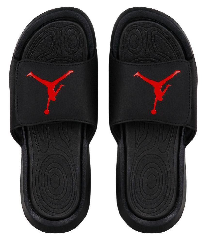 508911839 Nike JORDAN HYDRO 6 Black Slide Flip flop Price in India- Buy Nike JORDAN  HYDRO 6 Black Slide Flip flop Online at Snapdeal