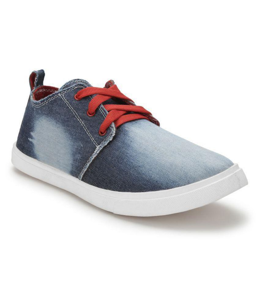 07b58ff006c Treadfit Denim Premium Sneakers Blue Casual Shoes - Buy Treadfit ...