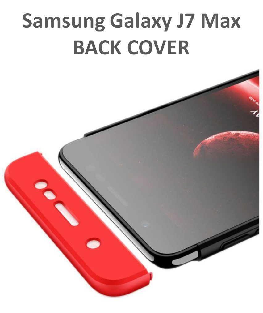 competitive price 5f2db 37623 Samsung Galaxy J7 Max Hybrid Covers JMA - Red Original Gkk 360° Double Dip  Case