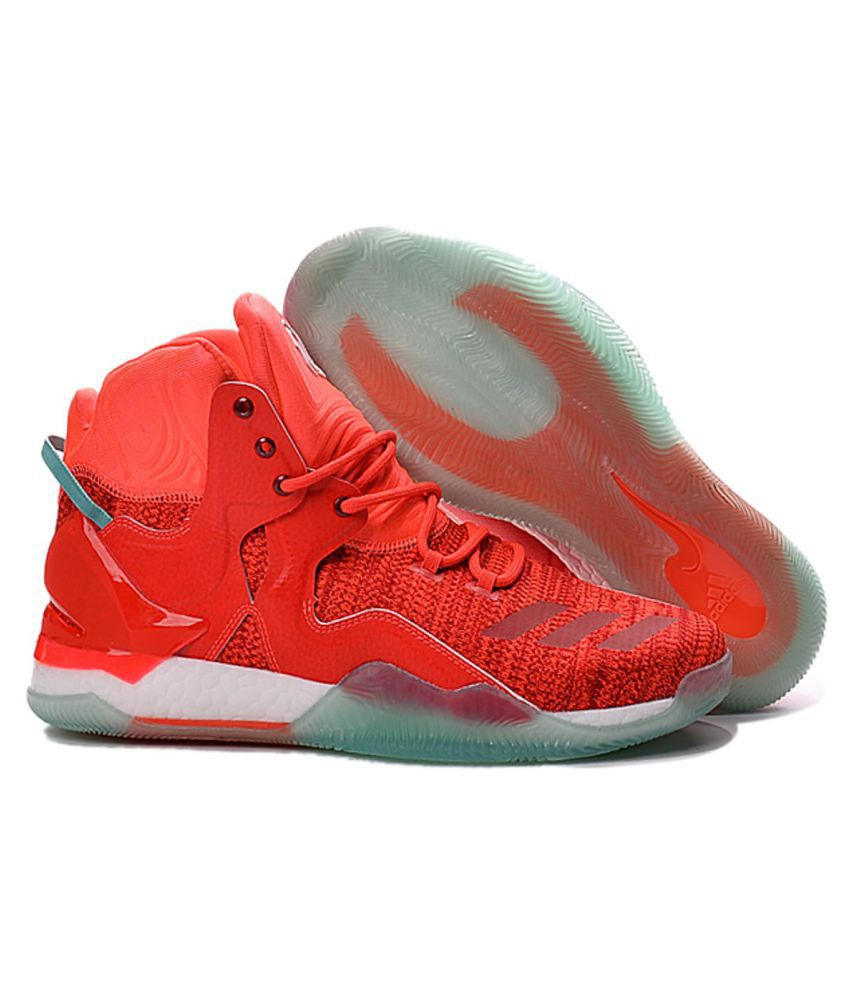 39c368c47ce Adidas D ROSE 7 PRIMEKNIT Red Basketball Shoes - Buy Adidas D ROSE 7 ...