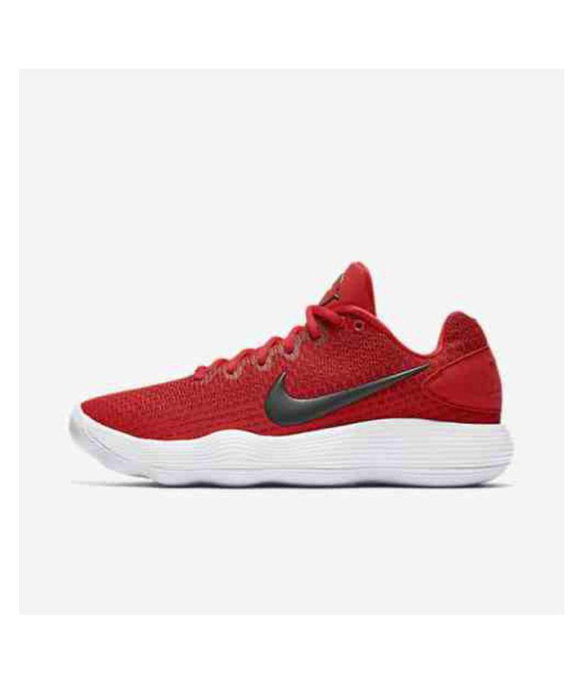 3b4abae8bac6 Nike React Hyperdunk 2017 Low Men s Red Running Shoes - Buy Nike React  Hyperdunk 2017 Low Men s Red Running Shoes Online at Best Prices in India  on Snapdeal
