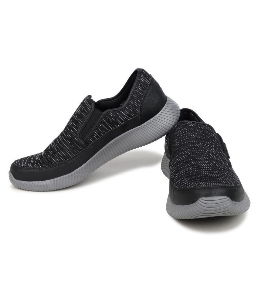 bb43c285590 Skechers 52395-BKCC DEPTH CHARGE Black Casual Shoes - Buy Skechers ...