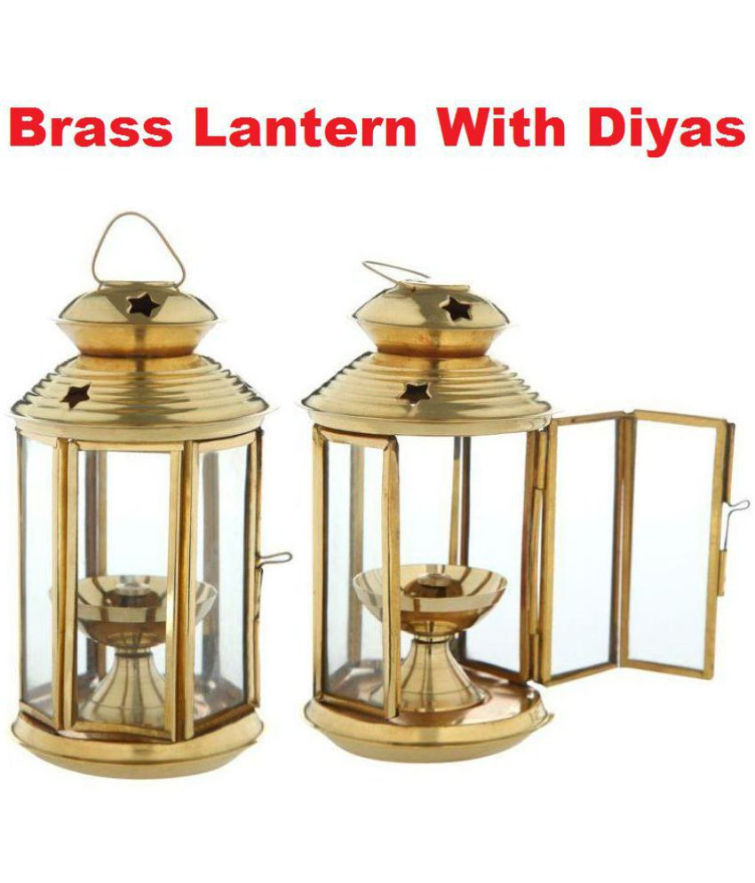 Frestol Brass Hanging diwali diya - Pack of 2 for diwali decoratives,diwali gift items