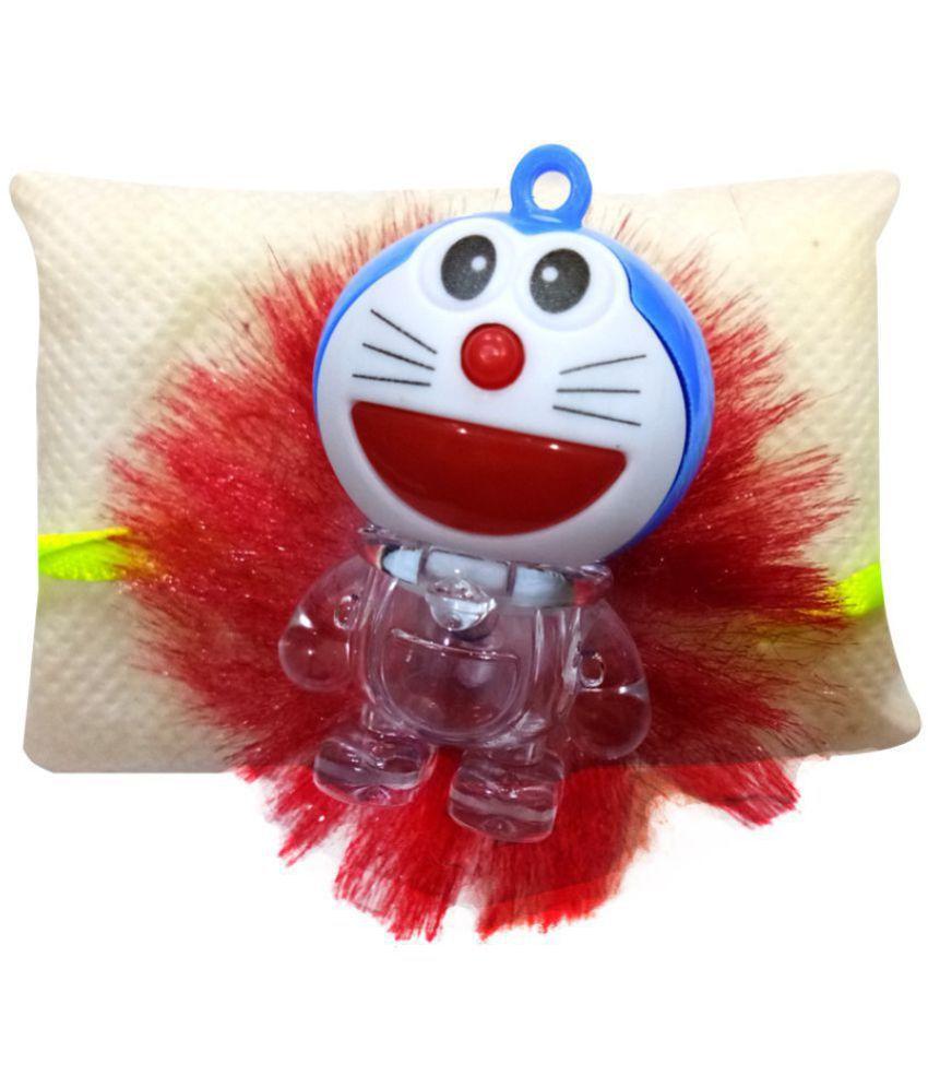 Kids Rakhi Doraemon with LED light Multicolour Pack of 1