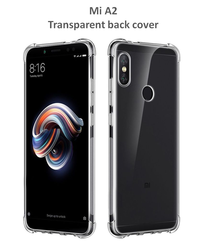 superior quality 04d46 d1592 Mi A2 Bumper Cases IRABLESS - Transparent Shockproof Hybrid Protection Back  Case Cover