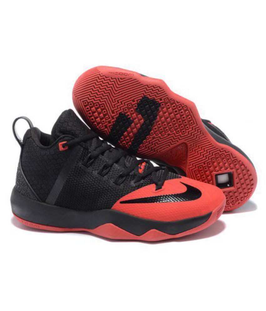 the best attitude 8d593 31c9f Nike Lebron Ambassador 9 Black Basketball Shoes - Buy Nike Lebron Ambassador  9 Black Basketball Shoes Online at Best Prices in India on Snapdeal