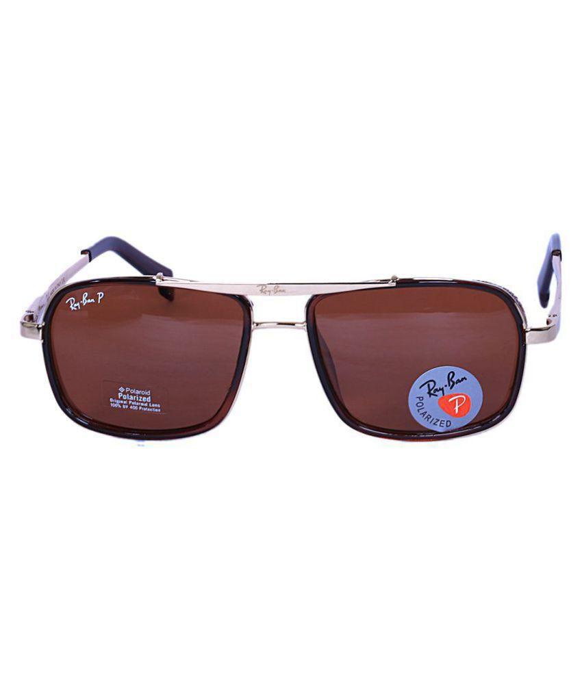 9a241265c59619 Fashion Sunglasses Brown Aviator Sunglasses ( RB4414 ) - Buy Fashion ...