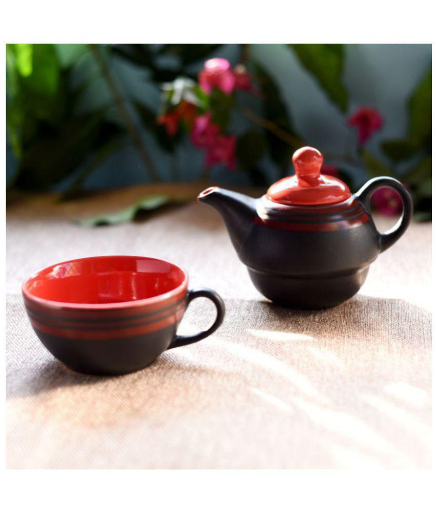 Unravel India Stoneware Tea Cup 2 Pcs Buy Online at Best Price in India - Snapdeal  sc 1 st  Snapdeal & Unravel India Stoneware Tea Cup 2 Pcs: Buy Online at Best Price in ...