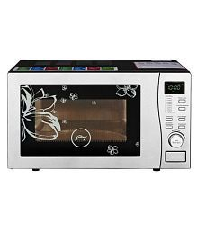Godrej Less than 20 Litres LTR GMX 519 CP1 - White Rose Convection Microwave White Rose