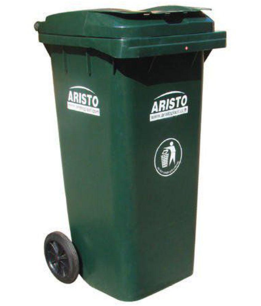Aristo Big Garbage Waste Trash Bucket Dustbin With Lid And
