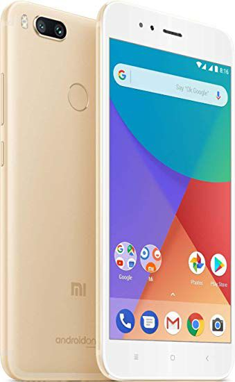 CERTIFIED USED Xiaomi MI A1 64 GB Gold RAM  4  GB   3 Month Seller Warranty