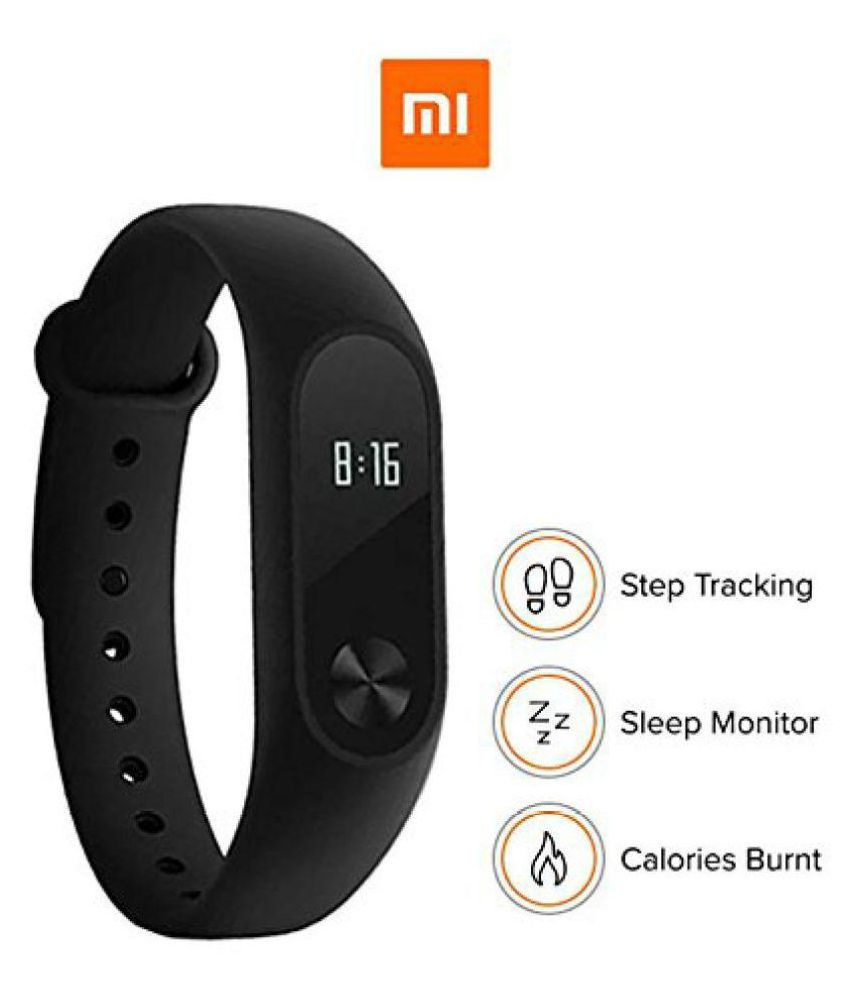 b242dcff375 M2 Band Smart Watch (Black) (features similar to MI watch)  Buy Online at  Best Price on Snapdeal