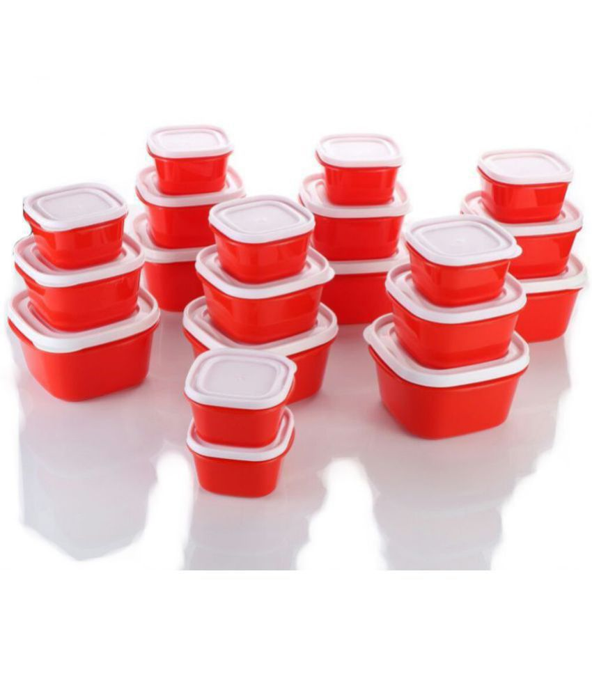 Slings Kitchenware Plastic Kitchen Storage Container Cereal Food Jar  Polycarbonate Food Container Set of 11-20