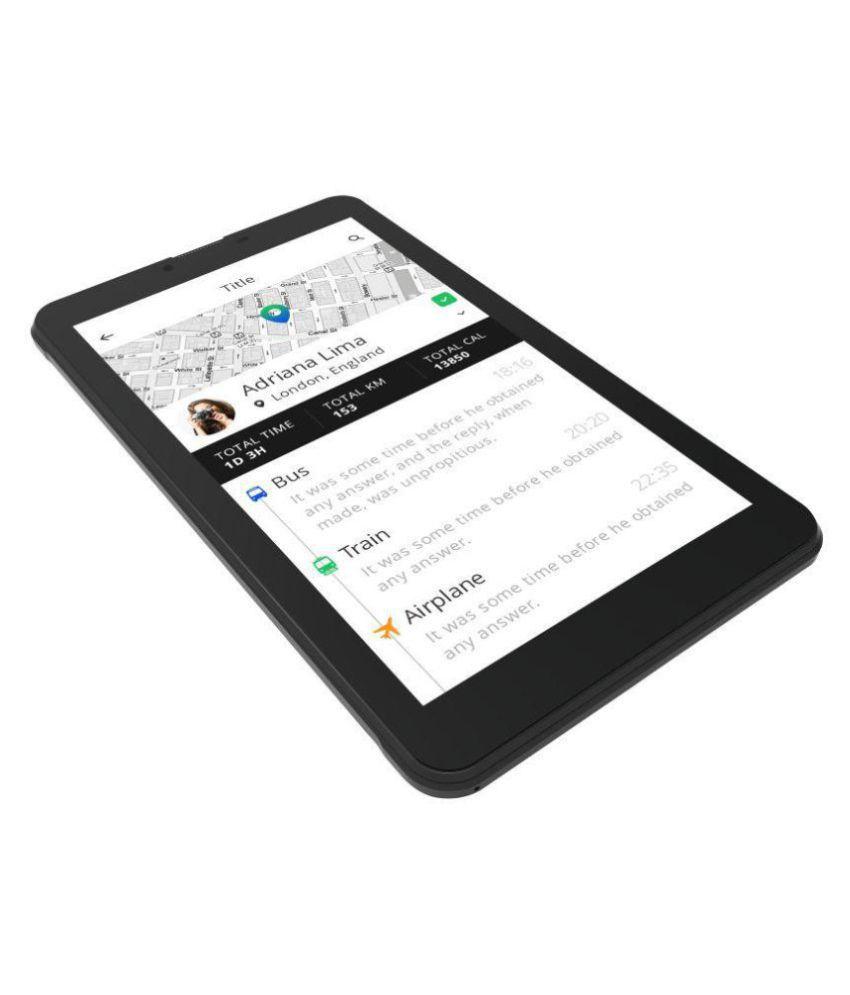 Intex IN-7DD01 Black ( 3G + Wifi , Voice calling ...