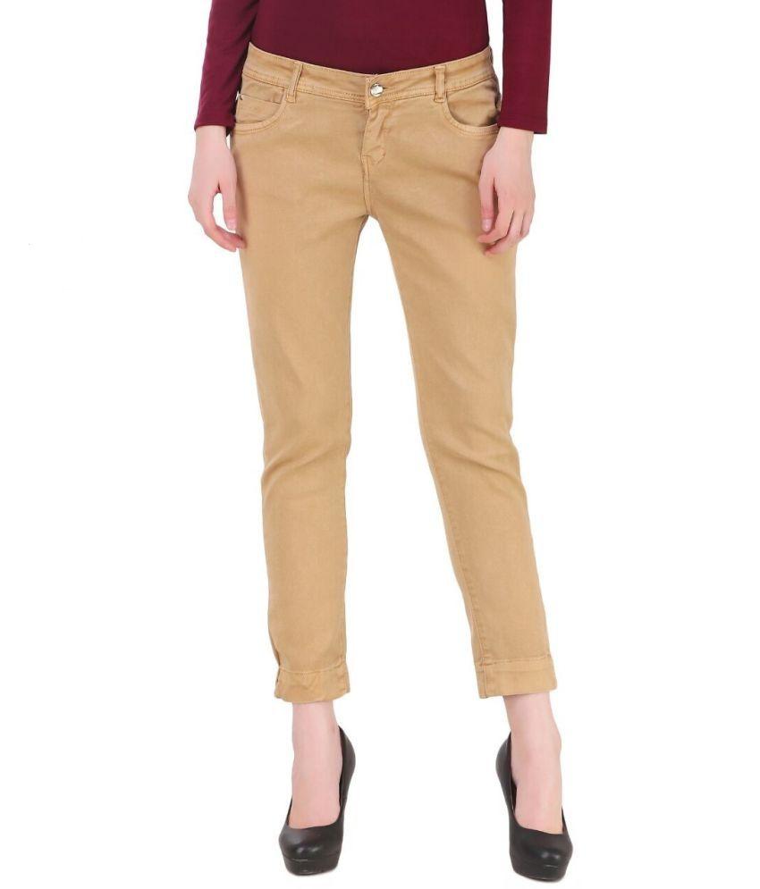 Plazma Jeans Dobby Jeans - Tan