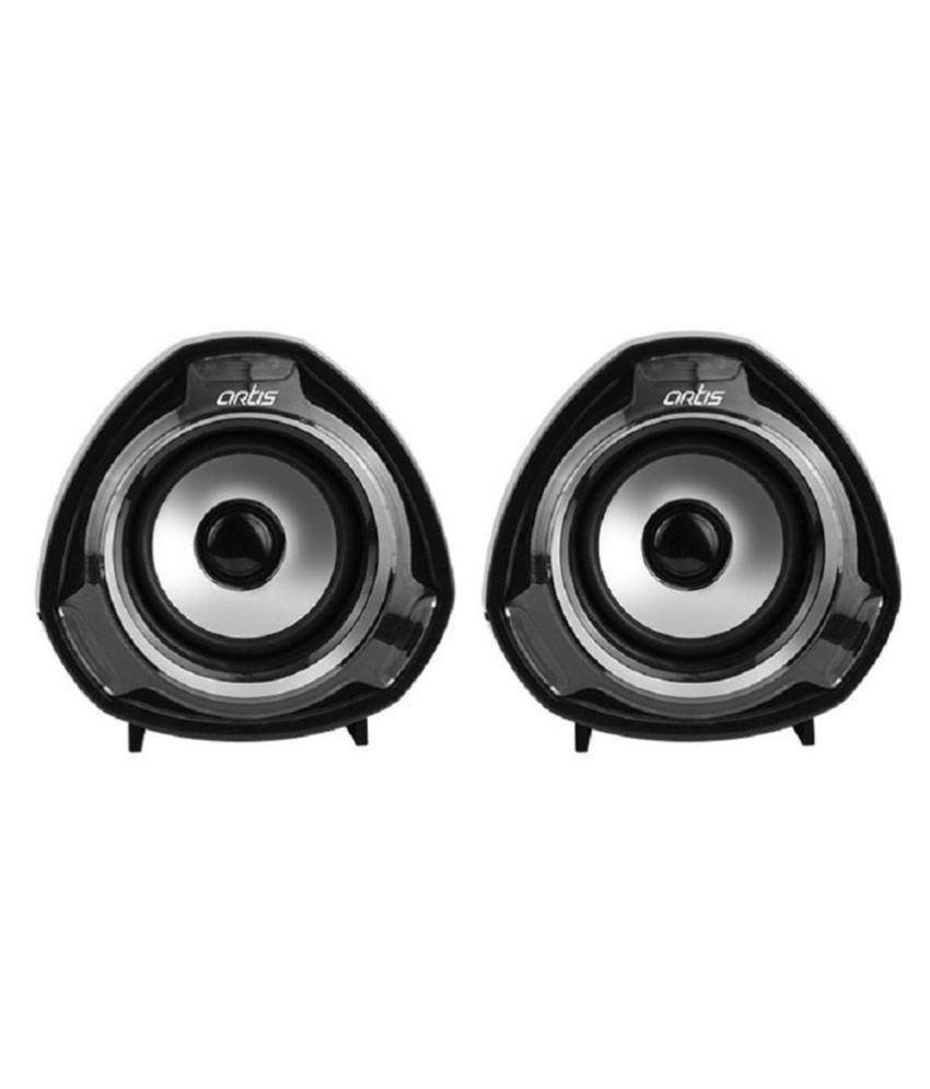 Buy Artis Artis S9 2 0 Usb Multimedia Speakers Black 2 0 Speakers