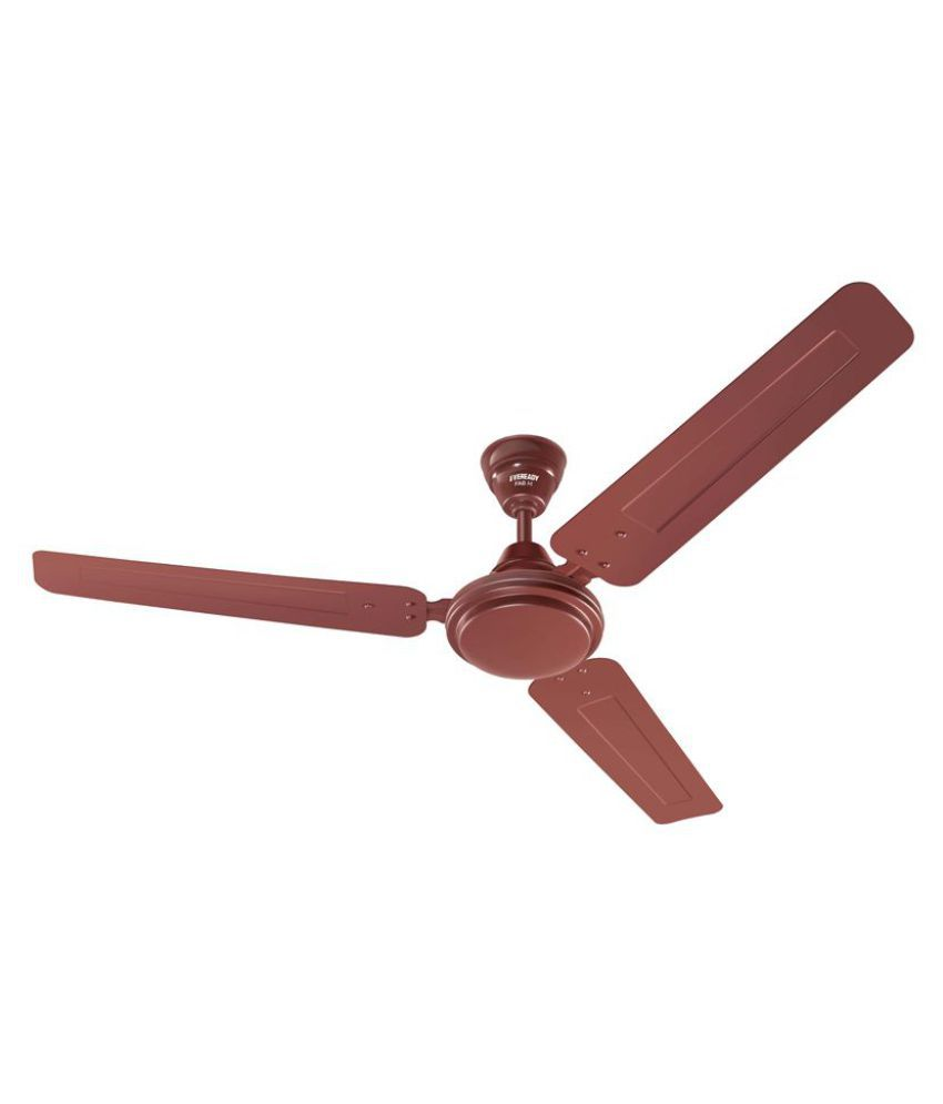 Eveready 1200 FAB - M Ceiling Fan Brown Price in India - Buy ...