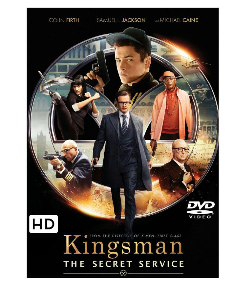 Kingsman The Secret Service Dvd Hindi Buy Online At Best Price In India Snapdeal