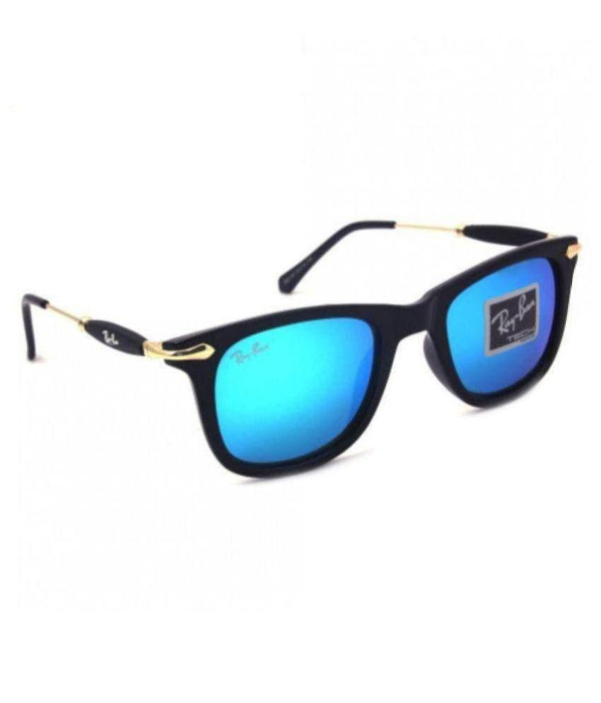5fb69d46a9 HOC Blue Wayfarer Sunglasses ( RB- Ray Ban Sunglasses 2148 ) - Buy ...