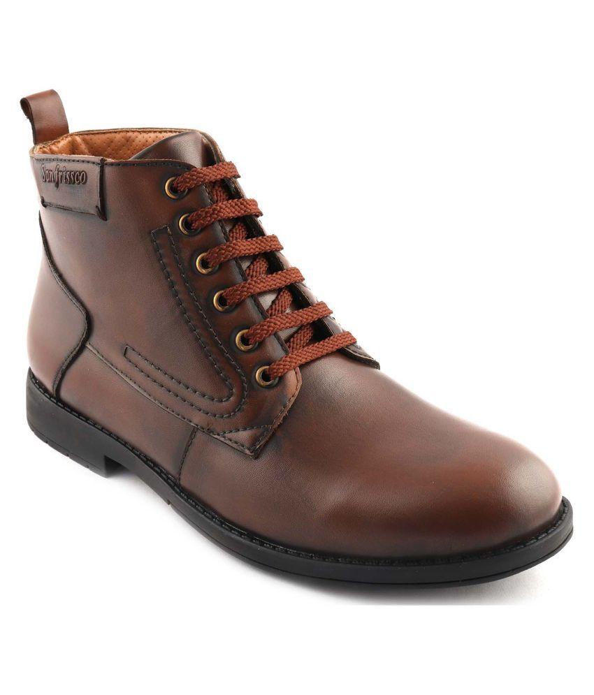San Frissco Tan Casual Boot