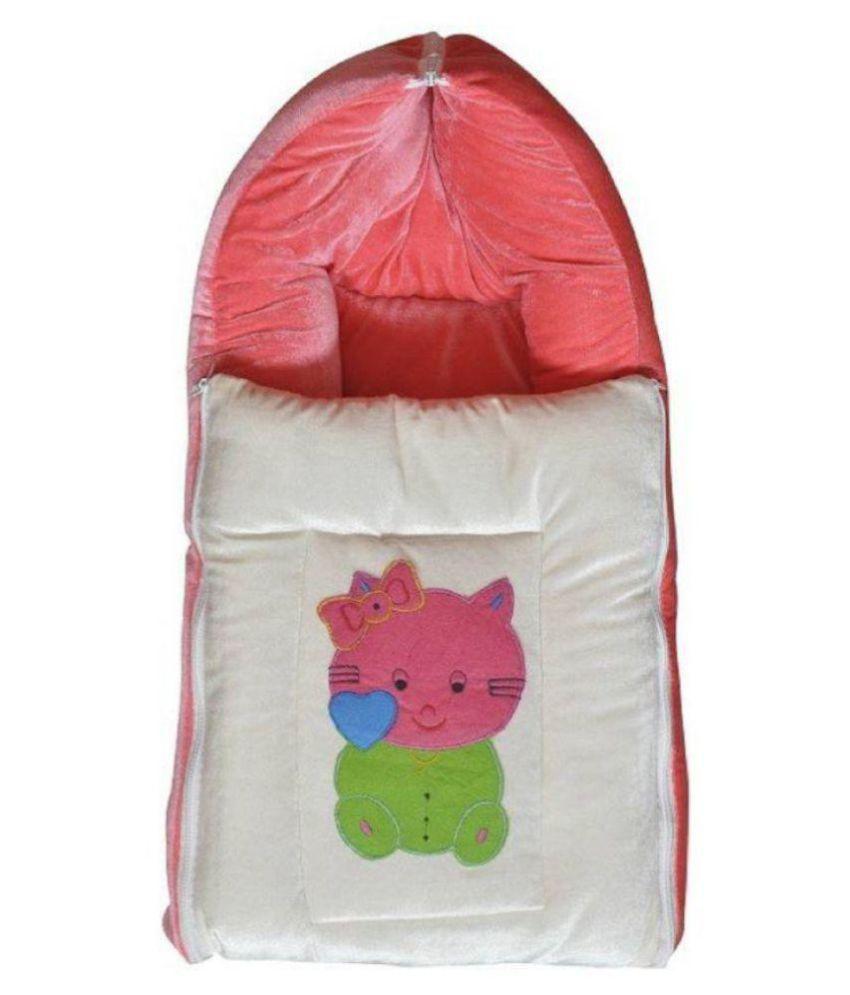 Carter's Pink Cotton Sleeping Bags ( 89 cm × 42 cm)