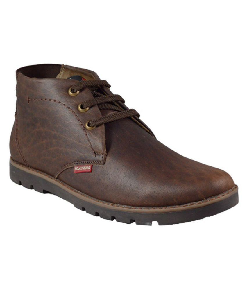 MarcoUno Brown Casual Boot