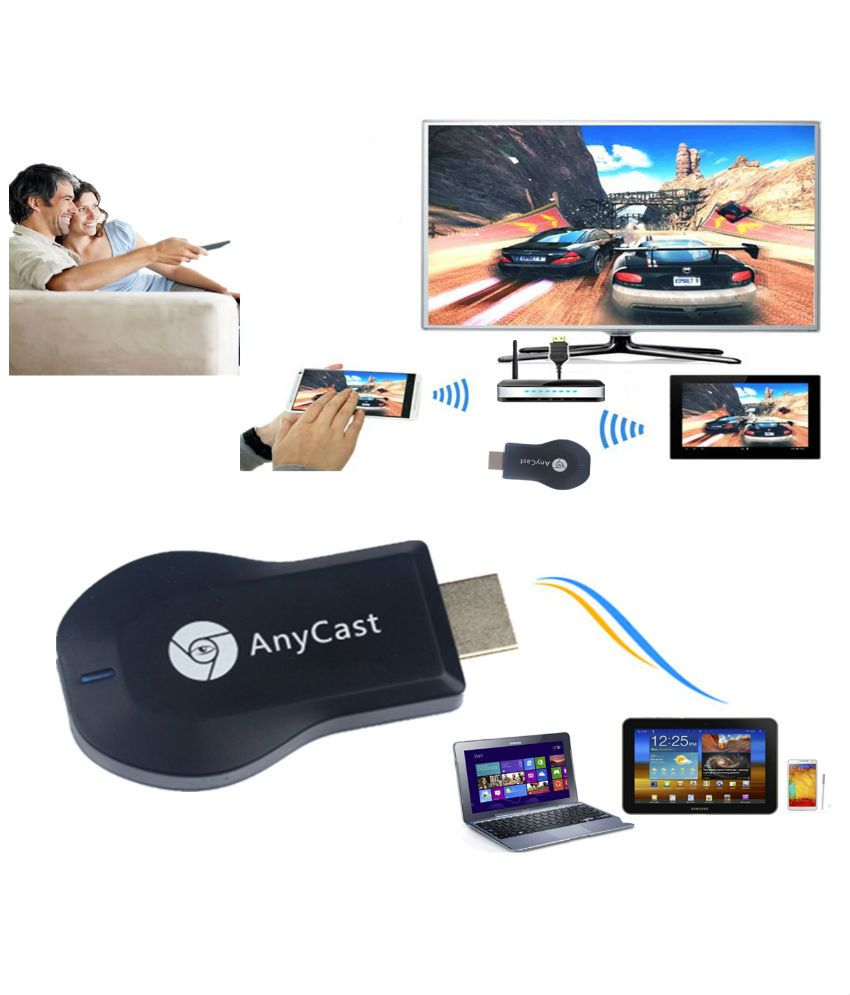 Terabyte Anycast M2 Plus TV Stick Wifi Display HDMI 1080P TV Dongle  Receiver DLNA Miracast Airplay for iOS Android Smart Phone Laptop TV