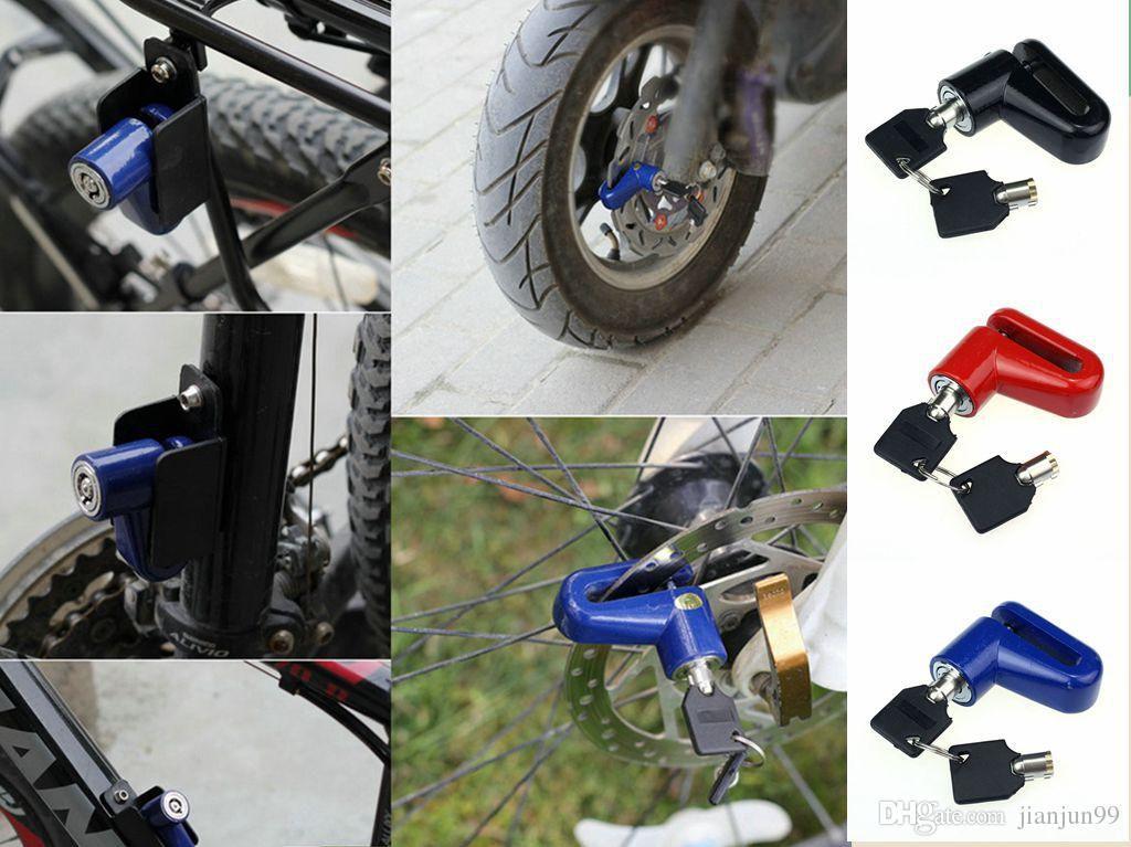 Bike Motorcycle Disc/ Disk Brake Wheel Lock for All Bikes