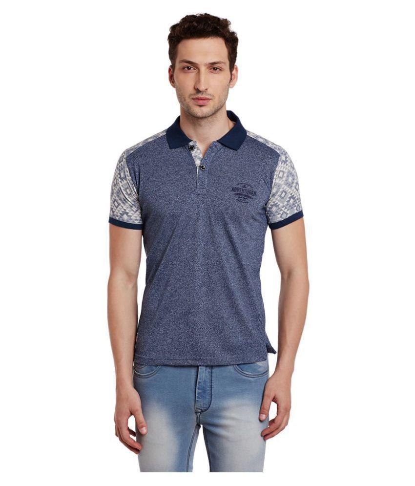 Duke Purple Slim Fit Polo T Shirt