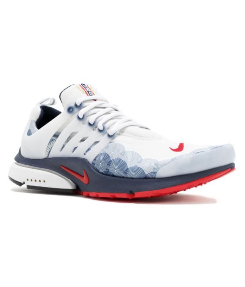 c043ffa8560d6 Nike Air Presto White Running Shoes - Buy Nike Air Presto White Running  Shoes Online at Best Prices in India on Snapdeal