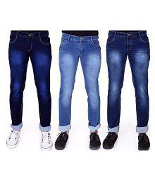 Narrow bottom jeans for men