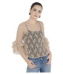 59c304a003dd92 Lace Tops for Women: Buy Lace Tops for Women Online at Low Prices on ...