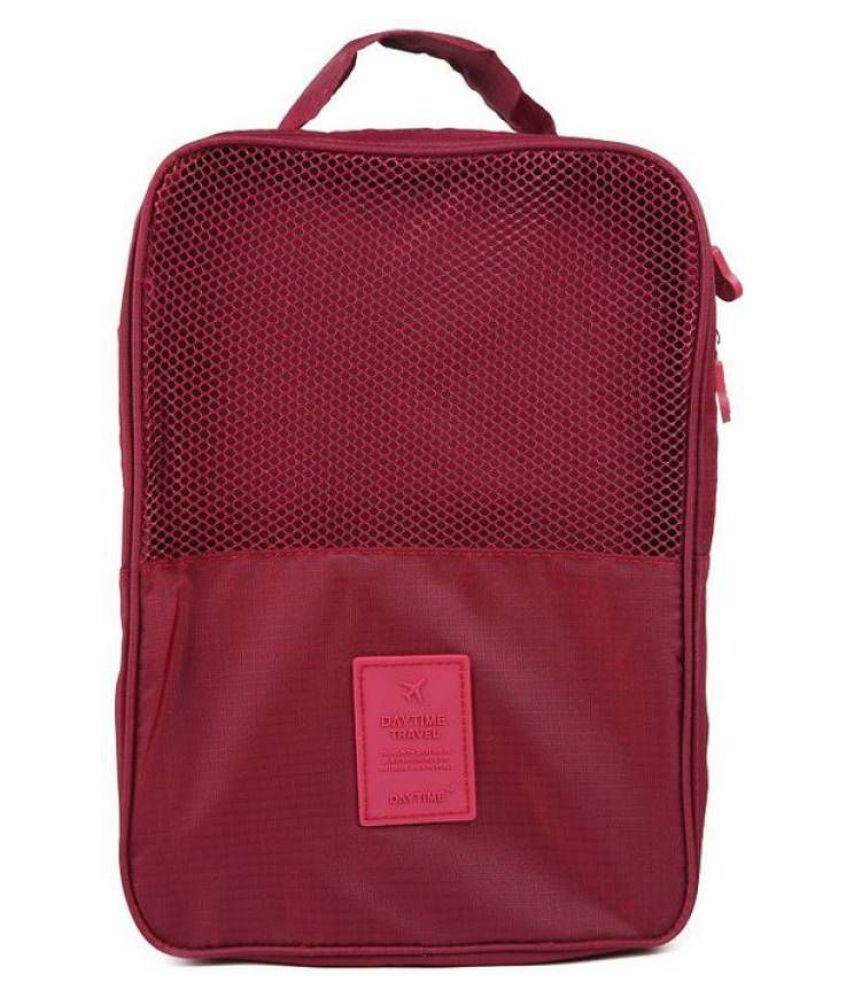 Everbuy Maroon Shoe Cases - 1 Pc