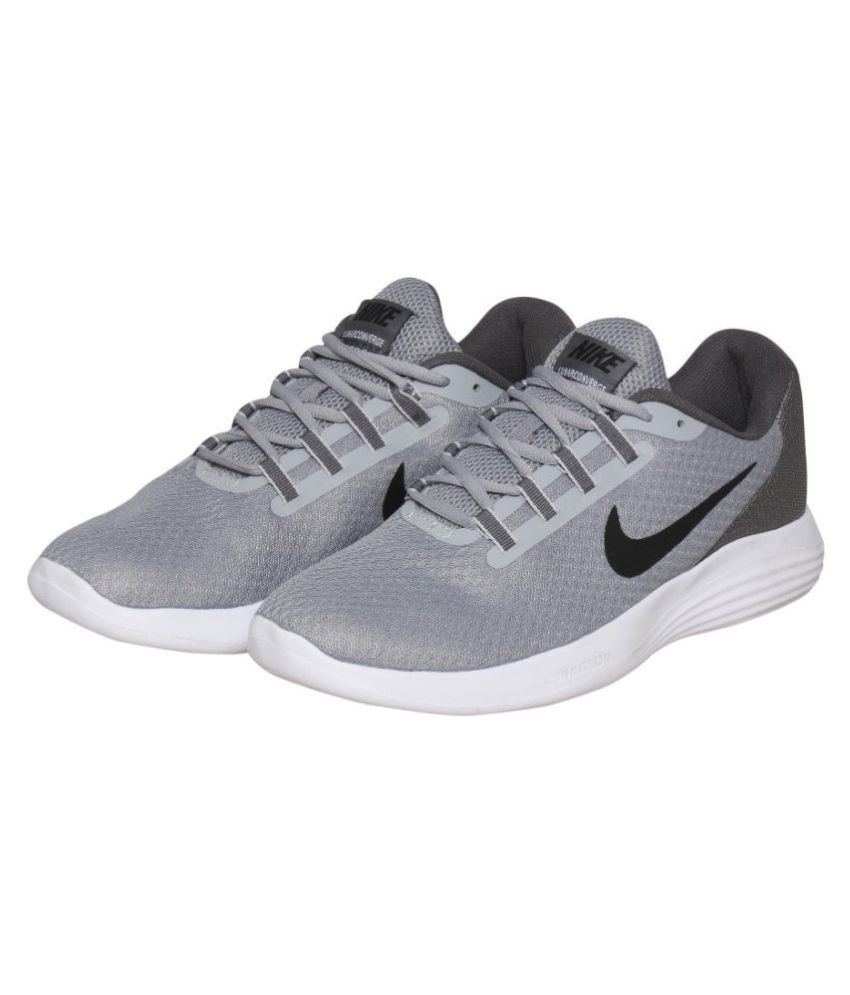 9ab22d6a11e Nike LUNAR CONVERGE Grey Running Shoes - Buy Nike LUNAR CONVERGE Grey  Running Shoes Online at Best Prices in India on Snapdeal