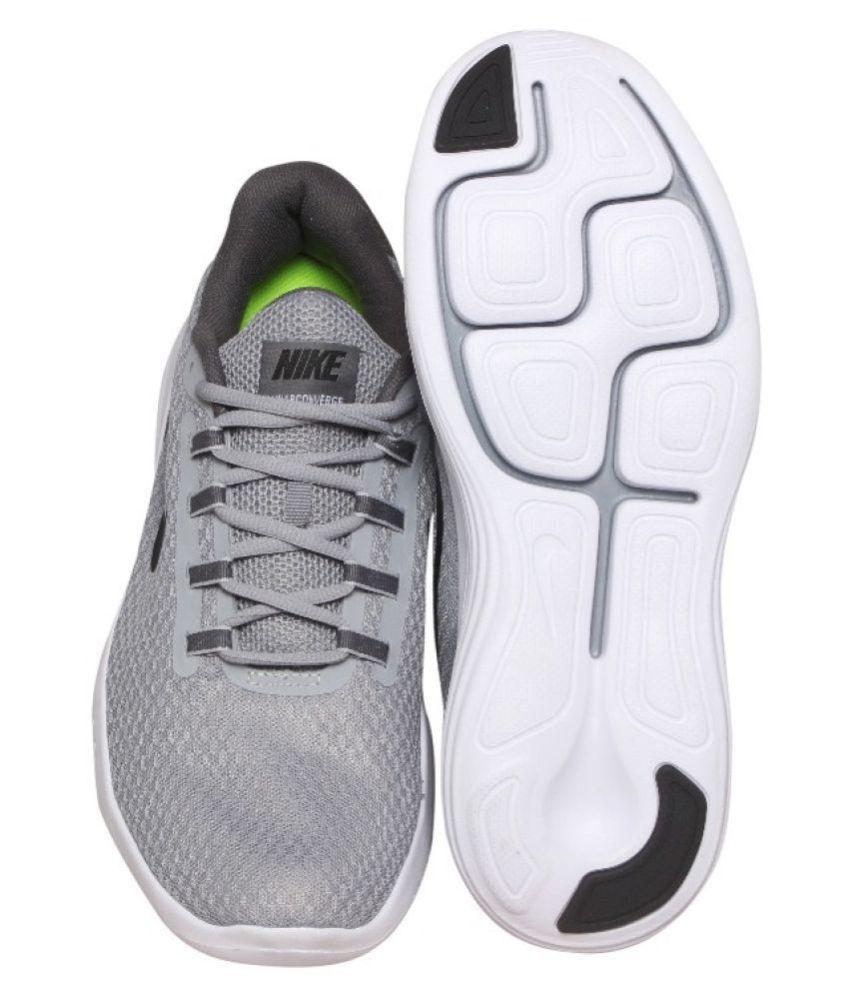 4f65e37055a4c Nike LUNAR CONVERGE Grey Running Shoes - Buy Nike LUNAR CONVERGE ...