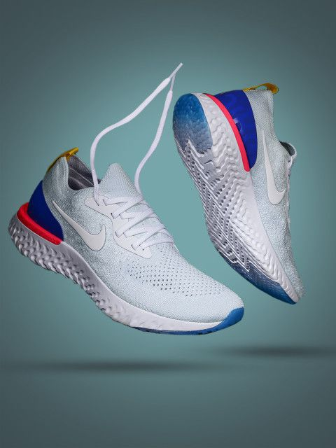 d236a59bf158e Nike epic react flyknit White Running Shoes - Buy Nike epic react flyknit  White Running Shoes Online at Best Prices in India on Snapdeal