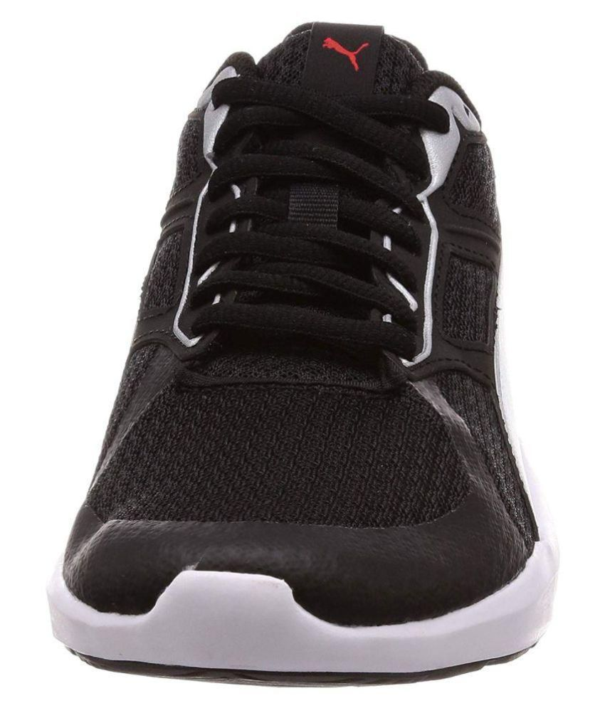 8c2c7fdf13a9bf Puma Escaper Tech Running Shoes Black  Buy Online at Best Price on ...
