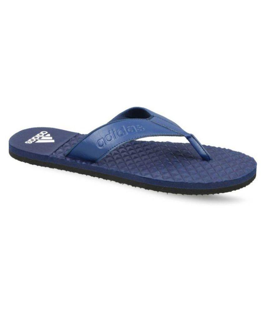 b578d928f49 Adidas Blue Massage flip flops Price in India- Buy Adidas Blue ...
