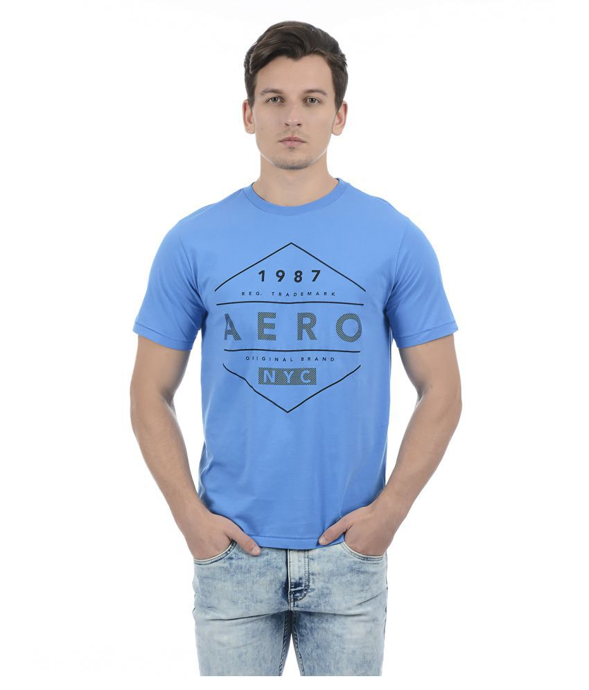 Aeropostale Navy Half Sleeve T-Shirt