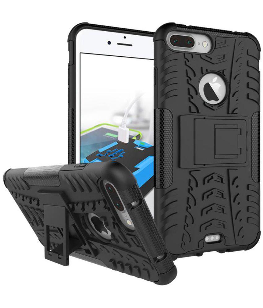 Iphone 7 Shock Proof Case JKR - Black